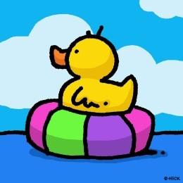 Rubber Tube Ducky