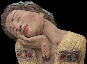 Hommage a Klimt  -Detail-  2017-09